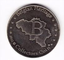 2012 Belgian Heritage Stadhuis Leuven Collectors Coin - Unclassified