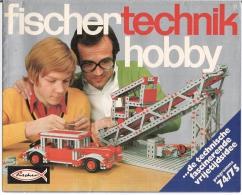 """FISCHERTECHNIK HOBBY -  Technique Fascinante Et Idée De Loisirs"""" (Dépliant Uniquement En Langue Néerlandaise) - Fischertechnik"""