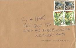 Uganda 2015 Soroti Angraecum Flower 850/- Crocodile Cover - Oeganda (1962-...)