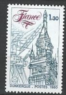 """FR YT 2088 """" Congrès Philatélique à Dunkerque """" 1980 Neuf** - France"""