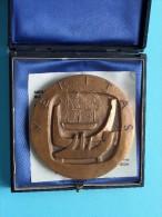 BUREAU VERITAS 150e Anniversaire 1828 / 1978 Bizette-Lindet 72 Mm. / 246.7 Gram In Case / Box ( Monnaie De Paris ) !! - France