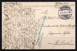 CPA De 1915 Benoit XV Avec Son Autographe - Autographes