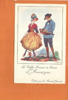 """Illustrateur Jean DROIT - Les Vieilles Provinces De France - """"L´AUVERGNE """" Edité Par Les Farines Jammet - Droit"""