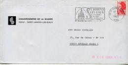 Flamme Santé,thermalisme,St Amand Les Eaux,cathedrale,carillon,Chaudronnerie De La Scarpe,lettre St Amand Les Eaux 1.3.8 - Termalismo