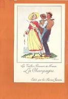 """Illustrateur Jean DROIT - Les Vieilles Provinces De France - """"La Champagne """" Edité Par Les Farines Jammet - Droit"""