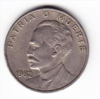 1962 Cuba 20 Centavos  Coin - Kuba
