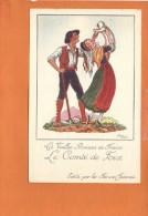 """Illustrateur Jean DROIT - Les Vieilles Provinces De France - """"Le Comté De Foix """" Edité Par Les Farines Jammet - Droit"""