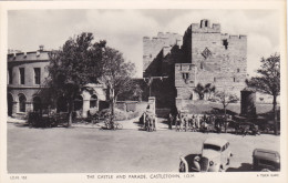 RP: The Castle & Parade, CASTLETOWN , I.O.M. , 30-40s - Isle Of Man