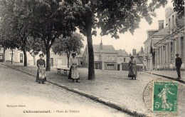 CHATEAURENAULT - Place Du Théatre - Andere Gemeenten