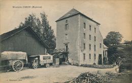 """ARON - Minoterie D'Aron (belle Carte Animée - Camion """"MOULINS A CYLINDRES COUTANT à ARON ) - Francia"""