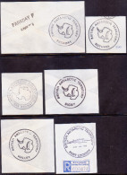 British Antarctic Territory Collection Of 6 Different Cachets - British Antarctic Territory  (BAT)