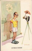"""Humour Illustrateur Wilcar """" Le Beau Gosse."""" Thème Photographie - Illustrateurs & Photographes"""