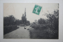 95 : Franconville - Rue De Taverny ( Animation  Chien ) - Franconville