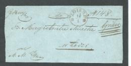 1860. ENTIRE  LETTER FROM  ZGIERZ --ŁÓDŻ  MAGISTRATE  COURT IN ŁÓDŻ. - Polen