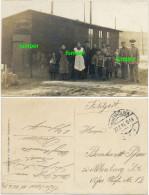 AK Bösau Bei Hohenmölsen, Fotokarte Wachstube Wachkommando, Feldpost 1916 - Weissenfels