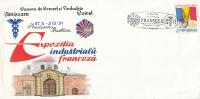 3434FM- FRENCH INDUSTRIAL EXHIBITION, SPECIAL COVER, 1991, ROMANIA - 1948-.... Républiques