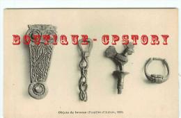 ACHAT DIRECT - OBJETS De BRONZE  EPOQUE ROMAINE à ALESIA - DOS SCANNE - Antigüedad