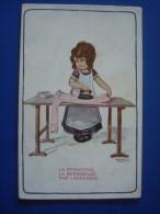 A. BERTIGLIA  La Repasseuse - Bertiglia, A.