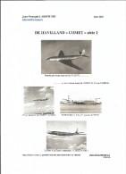 COMET - DH 106 Histoire Succincte En 33 Pages ( AIR FRANCE - U.A.T. Et Autres Compagnies) Format A4 - Correo Aéreo E Historia Postal