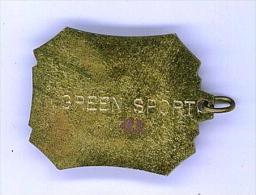 MEDAGLIA SPORTIVA - GREEN SPORT - MARATONA - ATLETICA - SMALTO - Altri