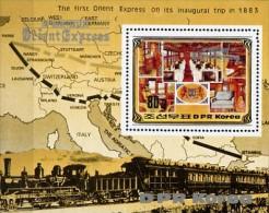 Korea Block 182  100 Jahre Orient-Express ** / MNH - Trains