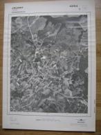GRAND PHOTO VUE AERIENNE  66 Cm X 48 Cm De 1981  JALHAY - Carte Topografiche