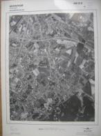 GRAND PHOTO VUE AERIENNE  66 Cm X 48 Cm De 1979 MANAGE - Topographische Karten