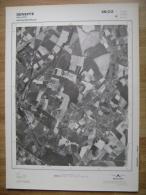 GRAND PHOTO VUE AERIENNE  66 Cm X 48 Cm De 1979 SENEFFE - Mapas Topográficas