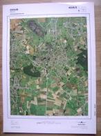 GRAND PHOTO VUE AERIENNE  66 Cm X 48 Cm De 1979  DOUR - Topographical Maps