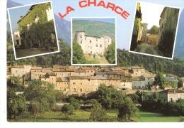 La Charce (Rémuzat-Drôme)-2001-Château De Philis-Vieilles Rues-oblitération Et Flamme De La Motte Chalancon (voir Scan) - Nyons