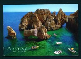 PORTUGAL  -  Algarve  Lagos  Ponta Da Piedade  Used Postcard As Scans - Faro