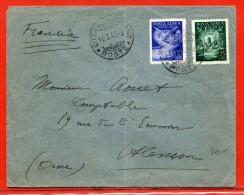 VATICAN LETTRE DE 1943 POUR ALENCON FRANCE - Vatican