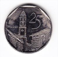 2000 Cuba 25 Centavos  Coin - Cuba
