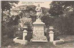 Bomal Sur Ourthe - Monument érigé En L'honneur Du Sacré-Coeur - Pas Circulé - Sépia - TBE - Durbuy