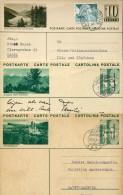 4442 Switzerland,  3 Stationery Card / Entiers / Ganzsachen Postkarten / - Postwaardestukken
