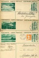 4443 Switzerland,  3 Stationery Card / Entiers / Ganzsachen Postkarten / - Postwaardestukken