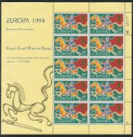 GUERNSEY 1994, 635/38, Europa Cept. Kleinbogensatz MNH ** - 1994