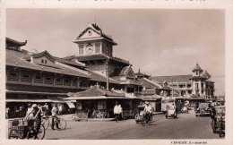 CHOLON (Chinatown Cholon - District 5, Ho-Chi-Minh-Stadt) - Le Marche, Fotokarte 1950? - China