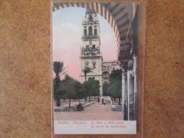 CORDOBA MEZQUITA   . DOS 1900 - Córdoba