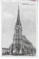 59  TOURCOING - Eglise Saint Christophe  - Tramway Avec Remproque Publicité CHERRY  GUERY - CPA Lucien POLLET Lille - Tourcoing