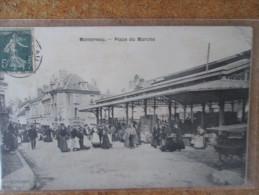 MONTEREAU. PLACE DU MARCHE - Montereau