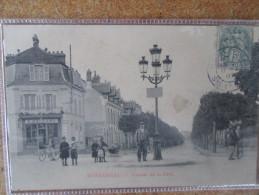 MONTEREAU . AVENUE DE LA GARE. E GALLAND  .MARBRES - Montereau