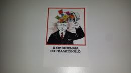C-45864 ROMA XXIV GIORNATA DEL FRANCOBOLLO ILLUSTRATA ANGELO CANEVARI - Manifestazioni