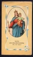 Calendarietto Salesiano 1952 - Maria Auxilium Christianorum - S 567 - Formato Piccolo : 1941-60
