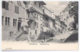 SOLOTHURN: Bastionsweg ~1900 - SO Soleure