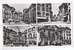 SOLOTHURN: 4-Bild-AK ~1940 - SO Soleure