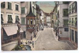 SOLOTHURN: Hauptgasse Animiert 1912 - SO Soleure