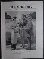 """L'Illustration N° 3575 Du 2 Septembre 1911 Le Vol De """"La Joconde""""; La République Portugaise; Foudroyé Sur Le Mont Blanc - Journaux - Quotidiens"""