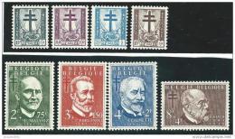 Belgie      OBP    930/937          *        Neuf Avec  Charniere    /   Ongebruikt  Met  Plakker - Unused Stamps