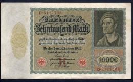 Germania - 10000 Marchi 19-1-1922 - To Identify